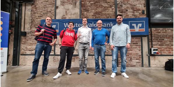 Heidesheim bei der 37. Deutschen Blitzschach-Mannschaftsmeisterschaft 2021 in Wissen/Sieg